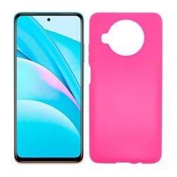 Funda rosa para Xiaomi Mi 10T Lite de silicona
