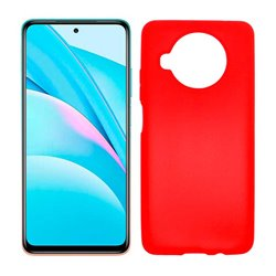 Funda roja para Xiaomi Mi 10T Lite de silicona