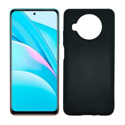 Funda negra para Xiaomi Mi 10T Lite de silicona