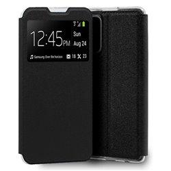 Funda con Tapa y Ventana para Xiaomi Mi 10T / Pro negro