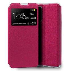 Funda con Tapa y Ventana para Xiaomi Mi 10T / Pro rosa