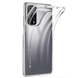 Funda transparente para Xiaomi Mi 10T / Pro de silicona
