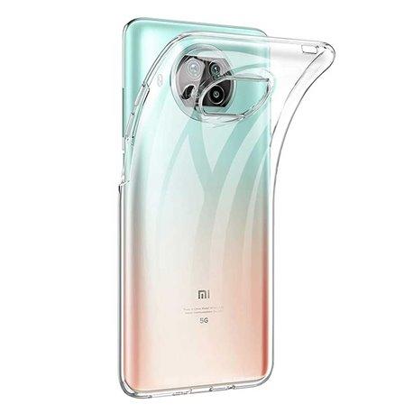Funda transparente para Xiaomi Mi 10T Lite de silicona