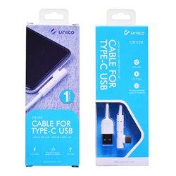 Cable USB Tipo C de 90 grados acodado y 2.4A