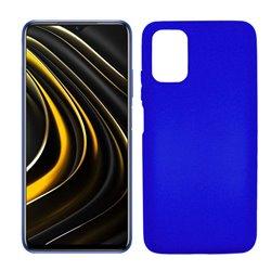 Funda azul para Poco M3 de silicona