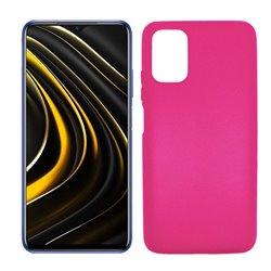 Funda rosa para Poco M3 de silicona