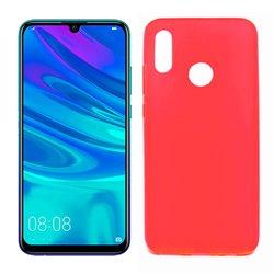 Funda de TPU Mate Lisa para Huawei P Smart 2019 Silicona Rojo