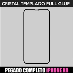 Protector pantalla completo para iPhone XR Full Glue