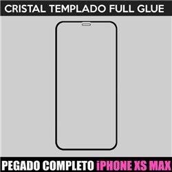 Protector pantalla completo para iPhone Xs Max Full Glue