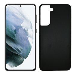 Funda negra para Samsung Galaxy S21 de silicona