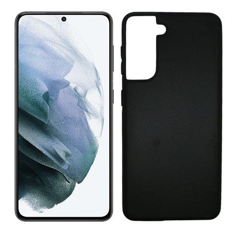 Funda azul para Samsung Galaxy S21 de silicona