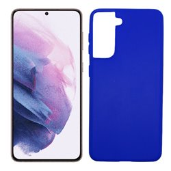 Funda azul para Samsung Galaxy S21 Plus de silicona