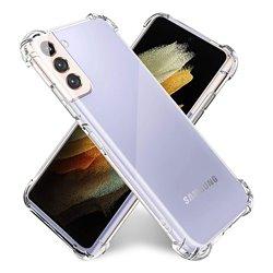 Funda con esquinas reforzadas para Samsung Galaxy S21 Plus