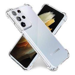 Funda con esquinas reforzadas para Samsung Galaxy S21 Ultra