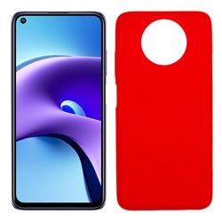 Funda roja para Xiaomi Redmi Note 9T de silicona