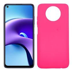Funda rosa para Xiaomi Redmi Note 9T de silicona