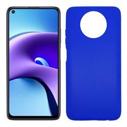 Funda azul para Xiaomi Redmi Note 9T de silicona
