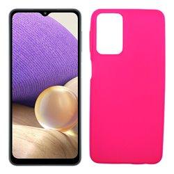 Funda rosa para Samsung Galaxy A32 5G de silicona