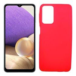 Funda roja para Samsung Galaxy A32 5G de silicona