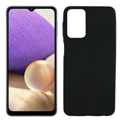 Funda negra para Samsung Galaxy A32 5G de silicona