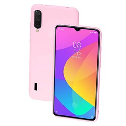 Funda de Silicona Suave Premium para Xiaomi Mi A3 Rosa