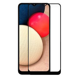 Protector de pantalla completo para Samsung Galaxy A02S Full Glue