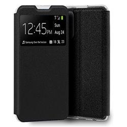 Funda con Tapa y Ventana para Xiaomi Redmi Note 10 negro