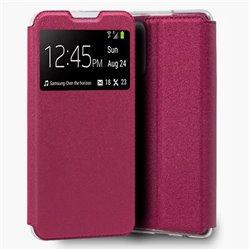 Funda con Tapa y Ventana para Xiaomi Redmi Note 10 rosa