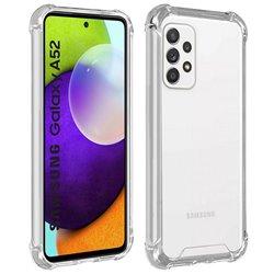 Funda con esquinas reforzadas para Samsung Galaxy A52 / A52 5G