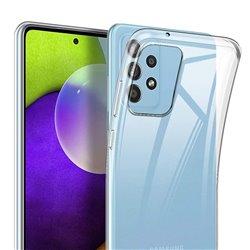 Funda transparente para Samsung Galaxy A52 / A52 5G de silicona