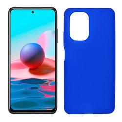 Funda azul para Xiaomi Redmi Note 10 de silicona
