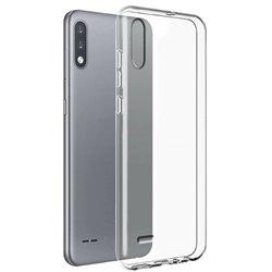 Funda transparente para LG K22 de silicona