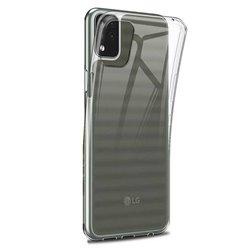 Funda transparente para LG K42 de silicona