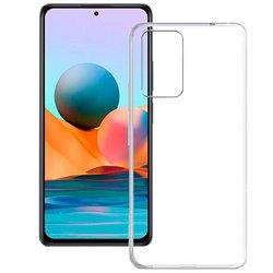 Funda transparente para Xiaomi Redmi Note 10 Pro de silicona