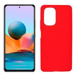 Funda roja para Xiaomi Redmi Note 10 Pro de silicona