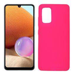 Funda rosa para Samsung Galaxy A32 4G de silicona