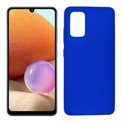 Funda azul para Samsung Galaxy A32 4G de silicona