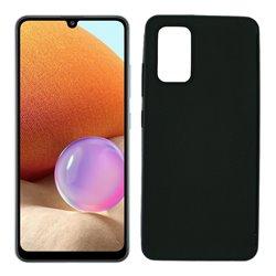 Funda negra para Samsung Galaxy A32 4G de silicona
