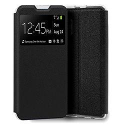 Funda con Tapa y Ventana para Samsung Galaxy A32 4G negro