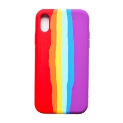 Funda Arcoiris Bandera Orgullo para iPhone X