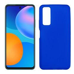Funda azul para Huawei P Smart 2021 de silicona