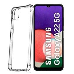 Funda con esquinas reforzadas para Samsung Galaxy A22 5G