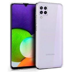 Funda transparente para Samsung Galaxy A22 4G de silicona