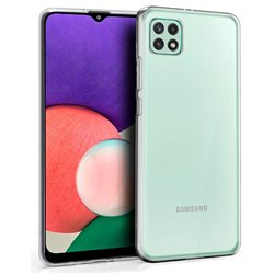 Funda transparente para Samsung Galaxy A22 5G de silicona