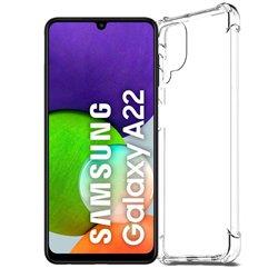 Funda con esquinas reforzadas para Samsung Galaxy A22 4G