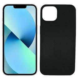 Funda negra para iPhone 13 de silicona
