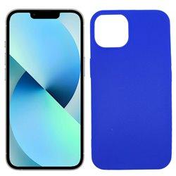 Funda azul para iPhone 13 de silicona