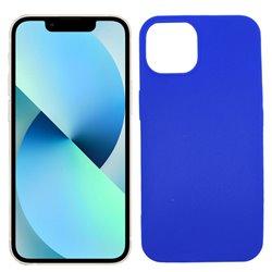 Funda azul para iPhone 13 Mini de silicona