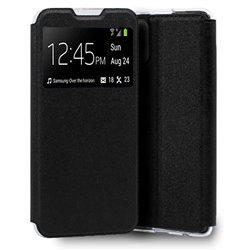 Funda con tapa y ventana para iPhone 13 Pro Negro