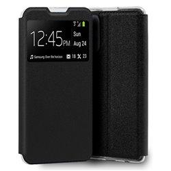 Funda con Tapa y Ventana para Samsung Galaxy A52 / A52 5G negro